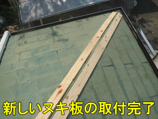 9新しいヌキ板完了小