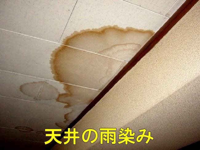 10室内雨漏り