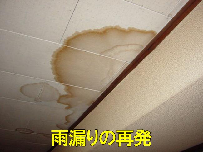 16室内雨漏り