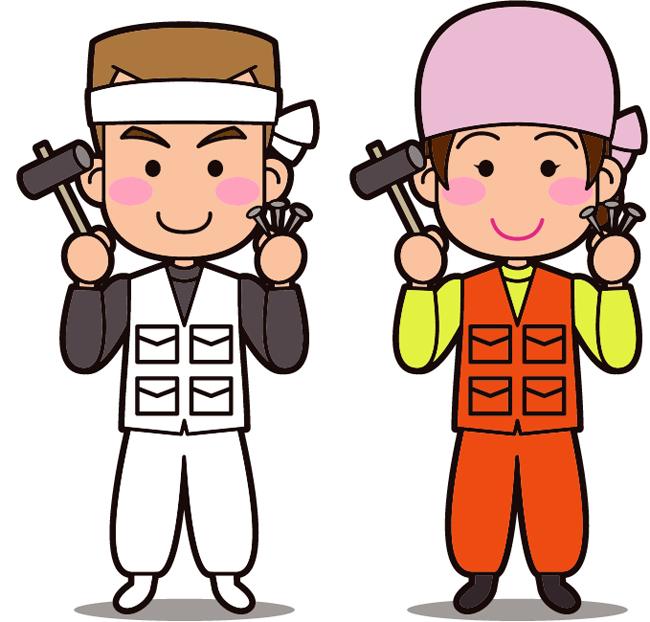 屋根修理業者は少数精鋭のため人件費を抑えられる