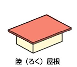 イラスト:陸屋根