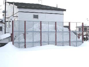 42雪止め:フェンス1