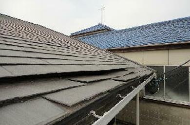 43屋根構造:軒下がり