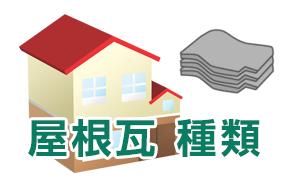 屋根瓦 種類