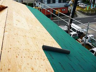 43屋根構造:ルーフィング