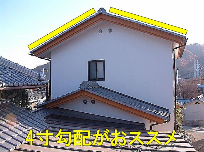 4寸勾配屋根2