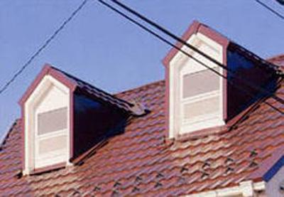 アルミ屋根:かわら形1