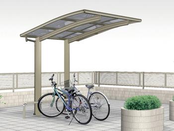 雨よけ屋根:サイクルポート