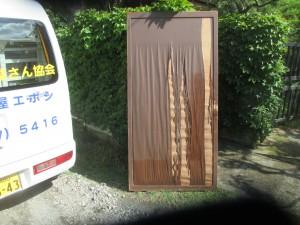雨戸修理:木製雨戸の不具合